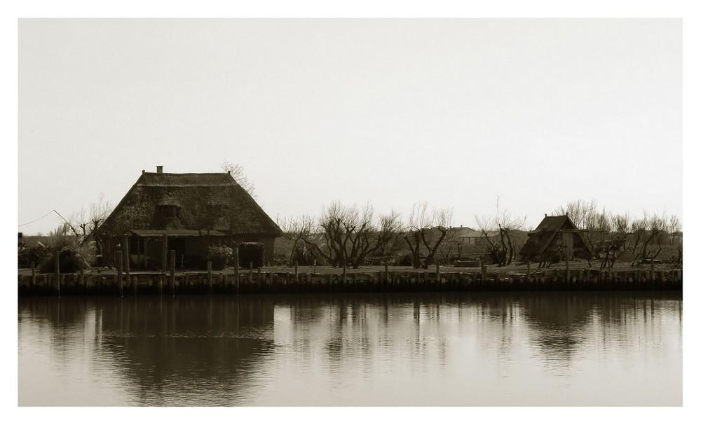 Case di pescatori - Laguna di Caorle