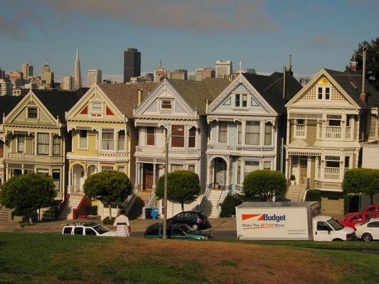 CASE VITTORIANE - ALAMO SQUARE - SAN FRANCISCO