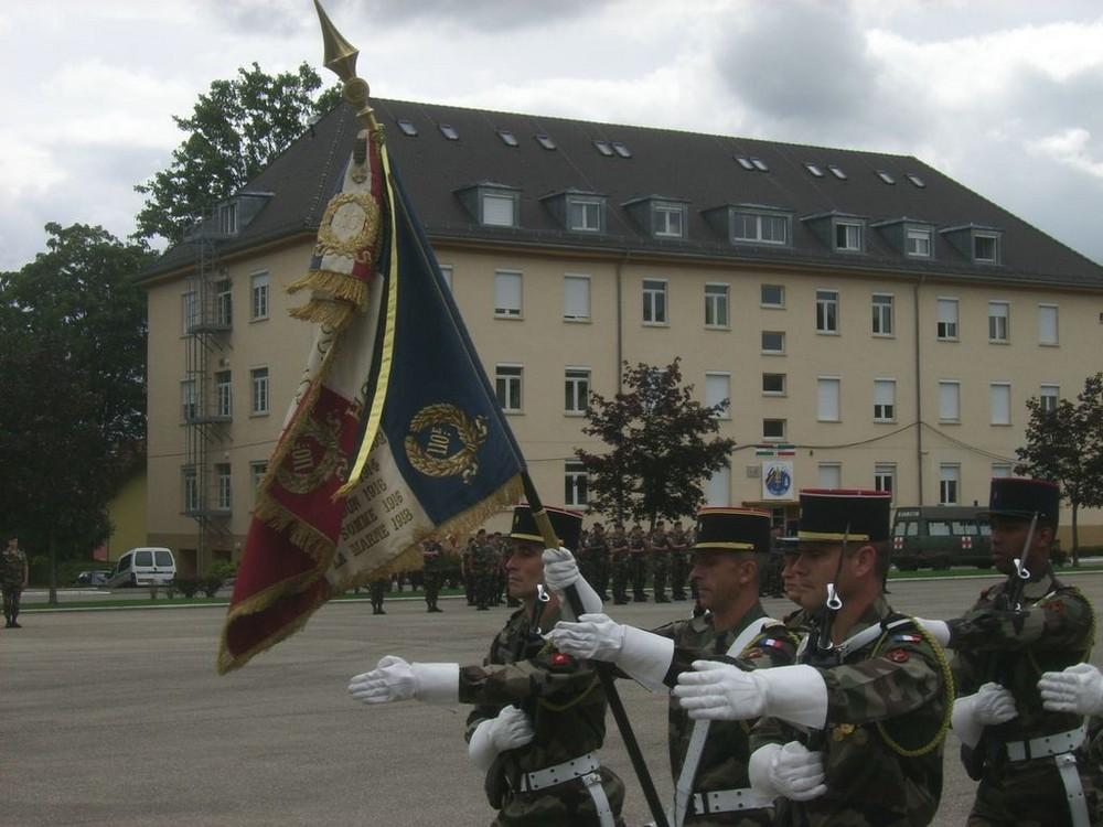 caserne franco-allemande de DONAUESCHINGEN