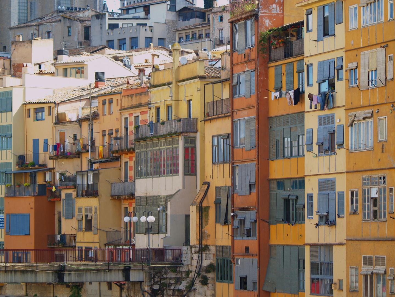 Cases Riu Onyar (Girona)