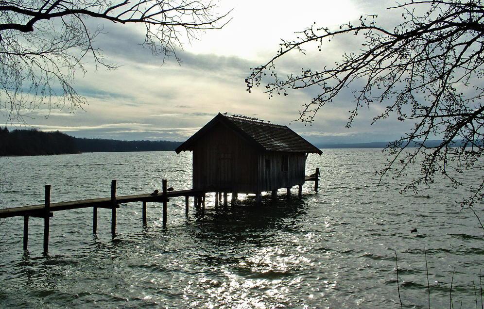 Casetta sul lago