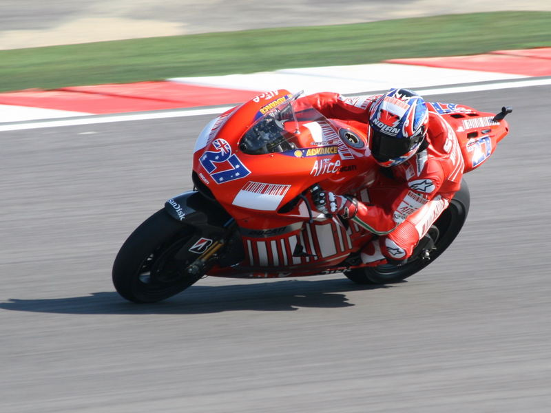 Casey Stoner Misano MotoGP 2007