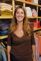 Cashmere shopwoman,Bergamo