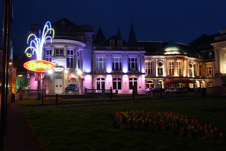 Casino in Spa , Belgien