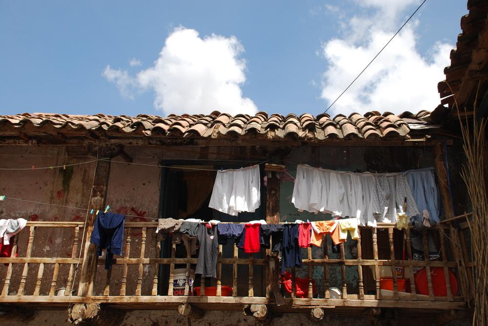 Casita en la Sierra Peruana