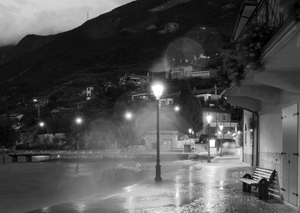 Cassone und der stürmische Gardasee