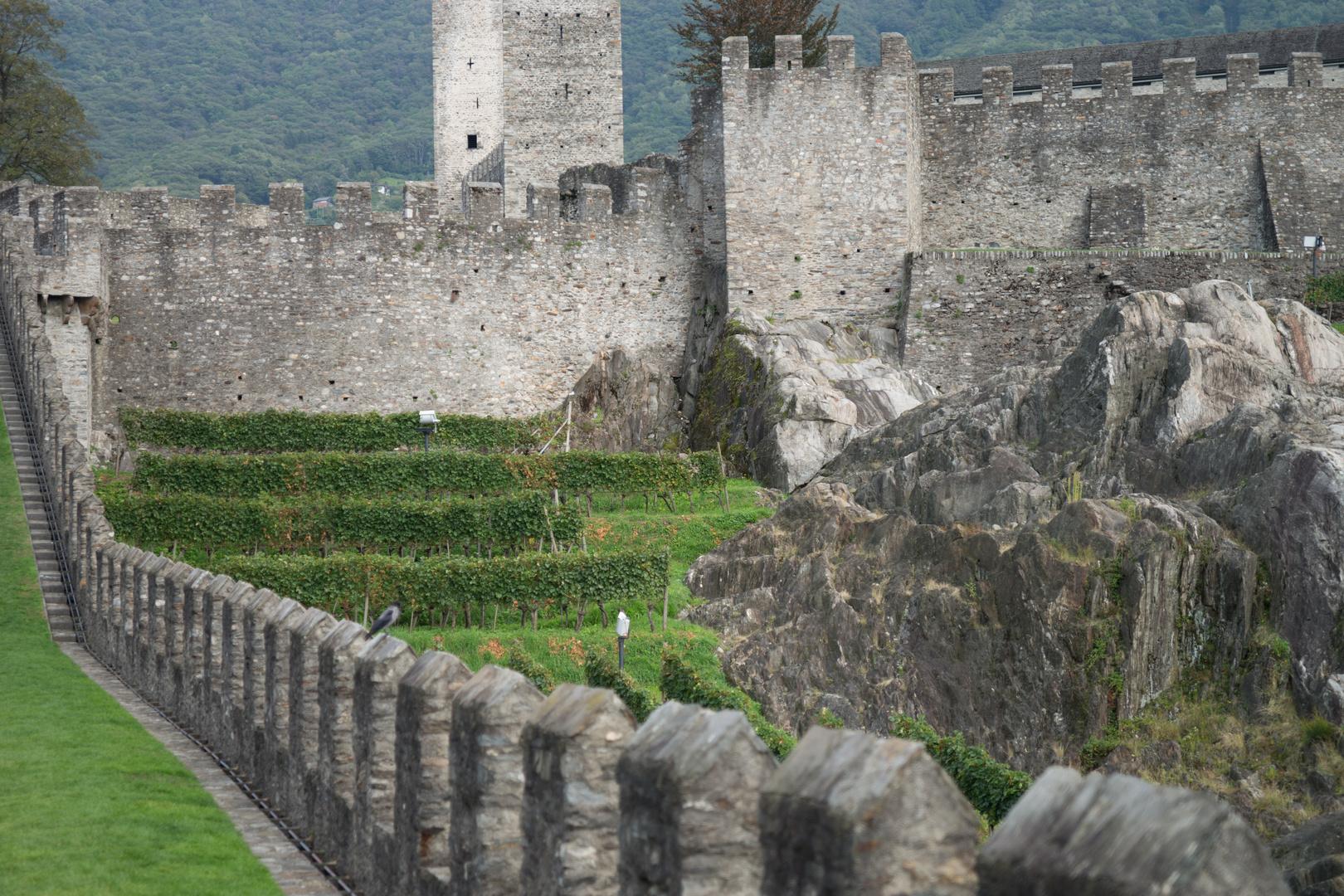 Castel Grande (Schloss Uri), Bellinzona