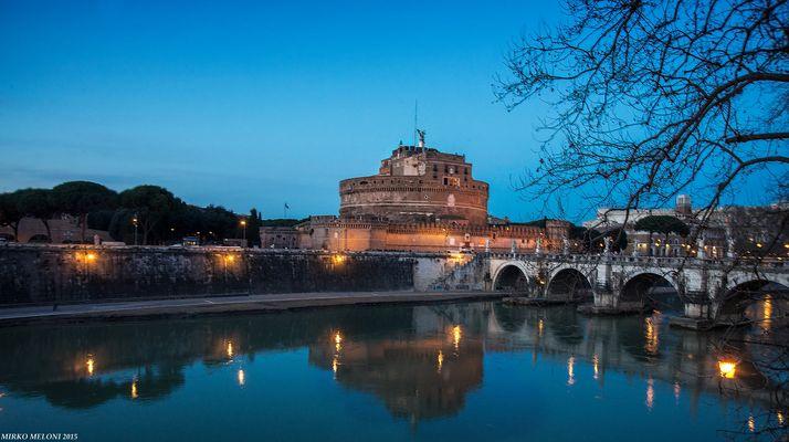 Castel Sant'Angelo sunset