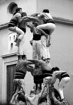 Castellers i castells