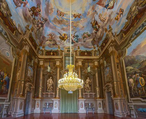 Castello di Agliè - Salone da Ballo