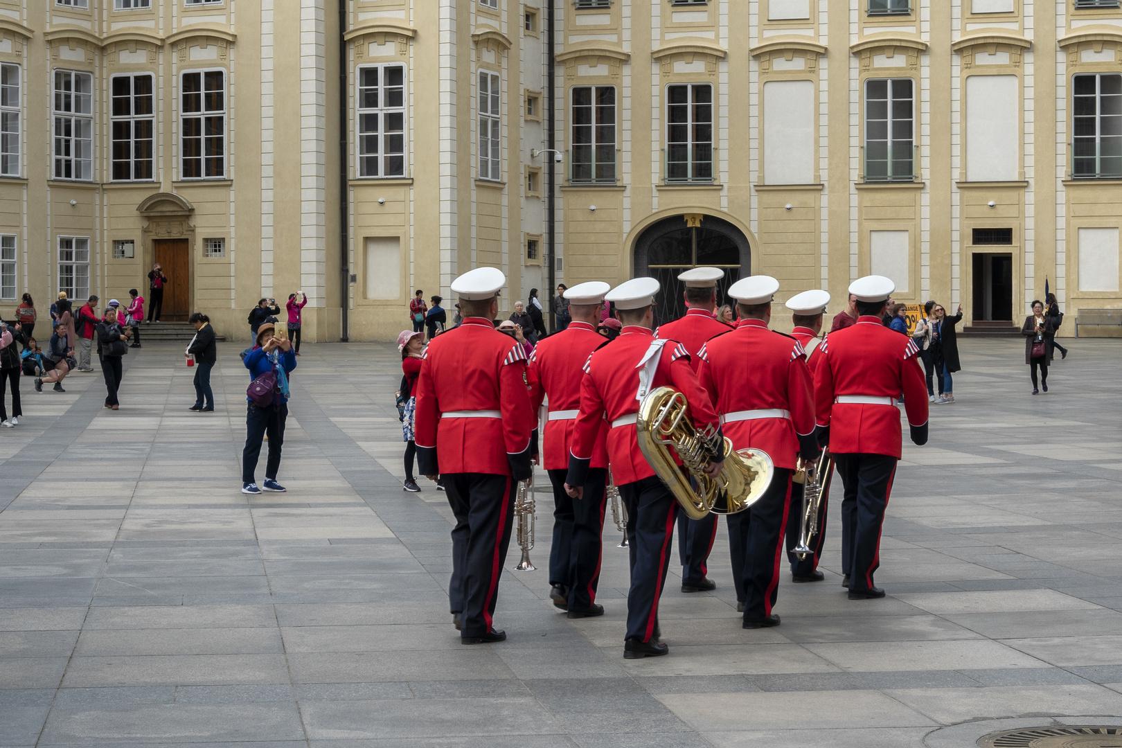 Castello di Praga, la banda