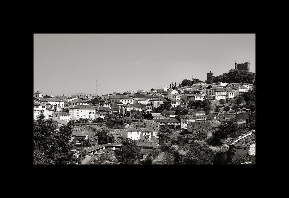 Castelo de Braganca BW
