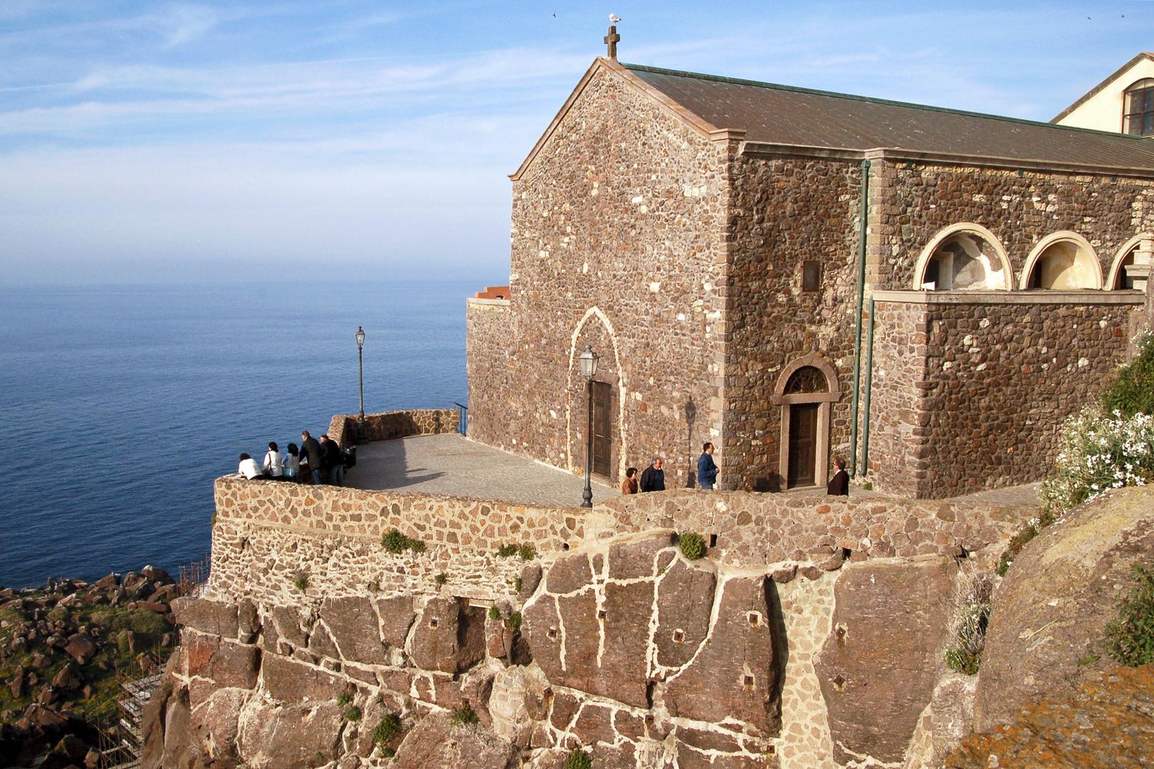 CASTELSARDO - Kirche - Meer - Sardinien