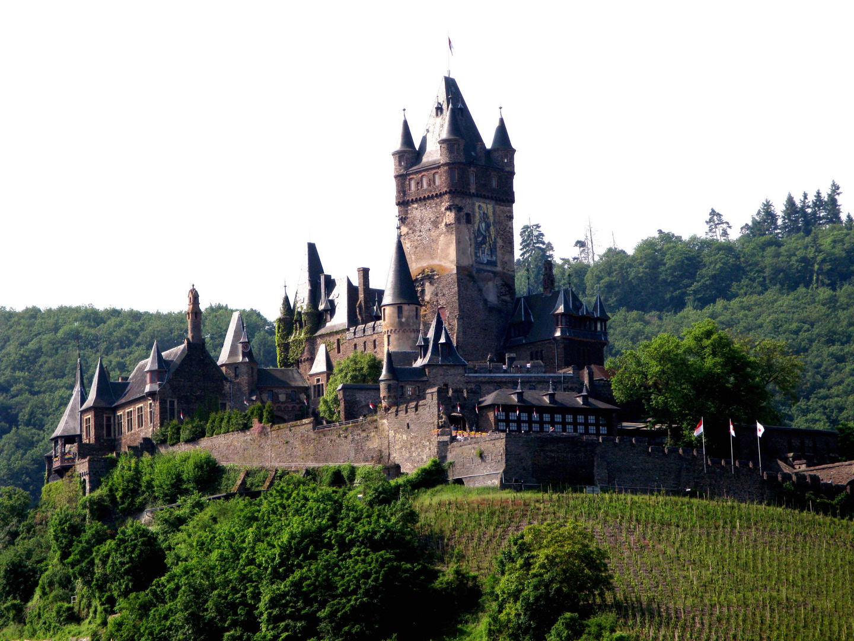 Castillo a orillas del Rhin - Alemania