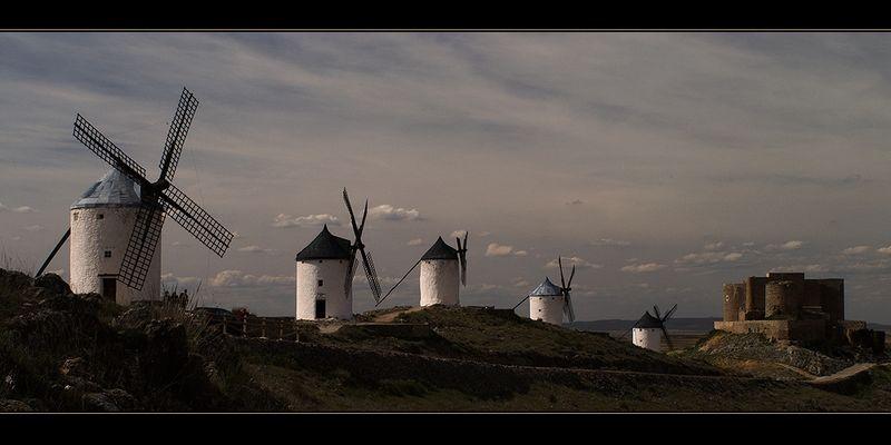 Castillo de Consuegra, Castilla la Mancha (Spanien)
