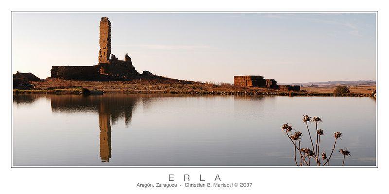 Castillo de Erla (Spanien - Aragón, Prov. Zaragoza)
