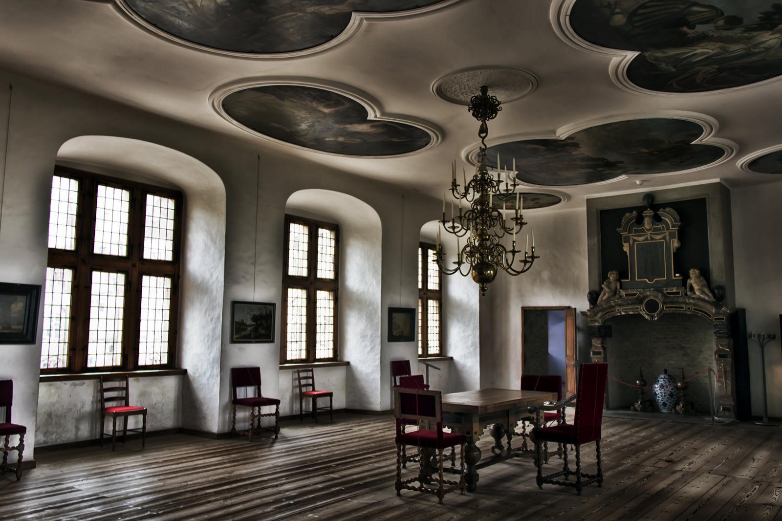 Castillo de Kronborg (DK),  escenario del Hamlet de Shakespeare