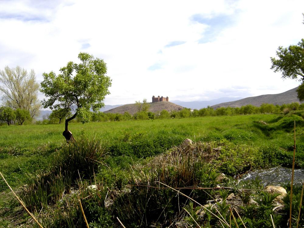 Castillo de La Calahorra ( Granada ) 4 desde la vega
