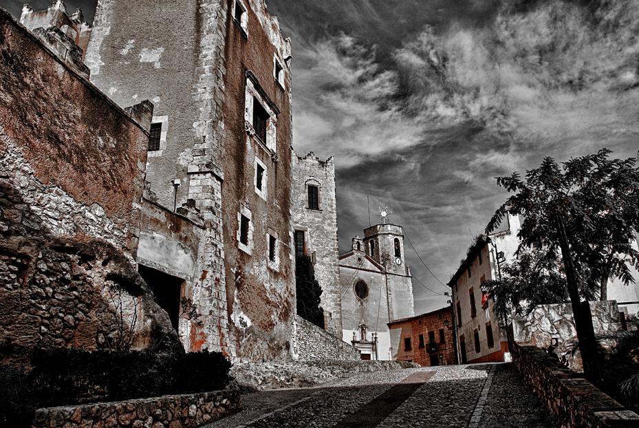 Castillo e Iglesia de Altafulla