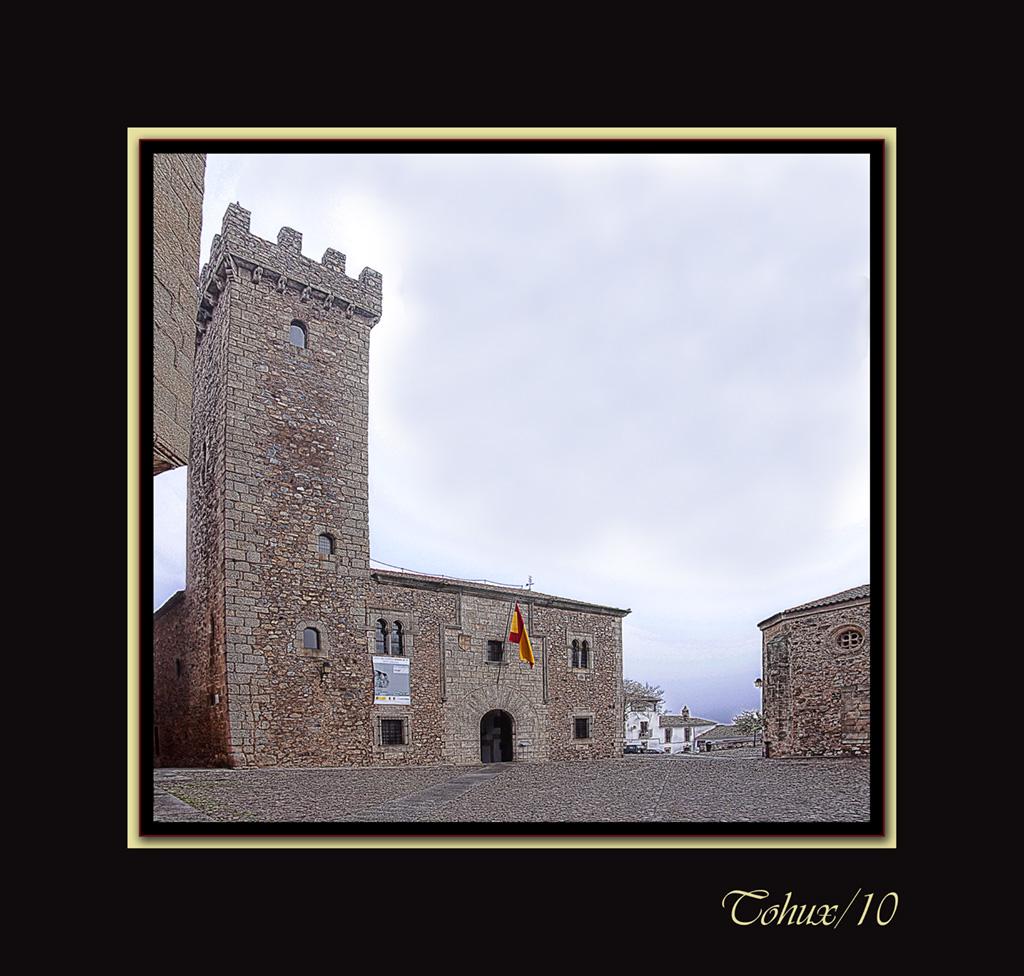 Castillo en Cáceres