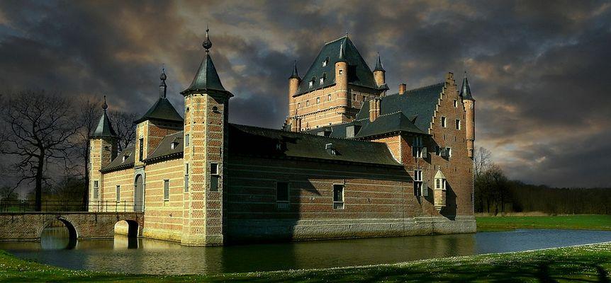 Castle 'Bossenstein' at Broechem (Belgium) (2)