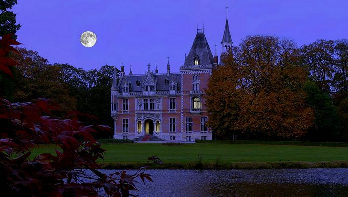 """Castle """"d'Aertrijcke"""" at Torhout (Belgium)"""