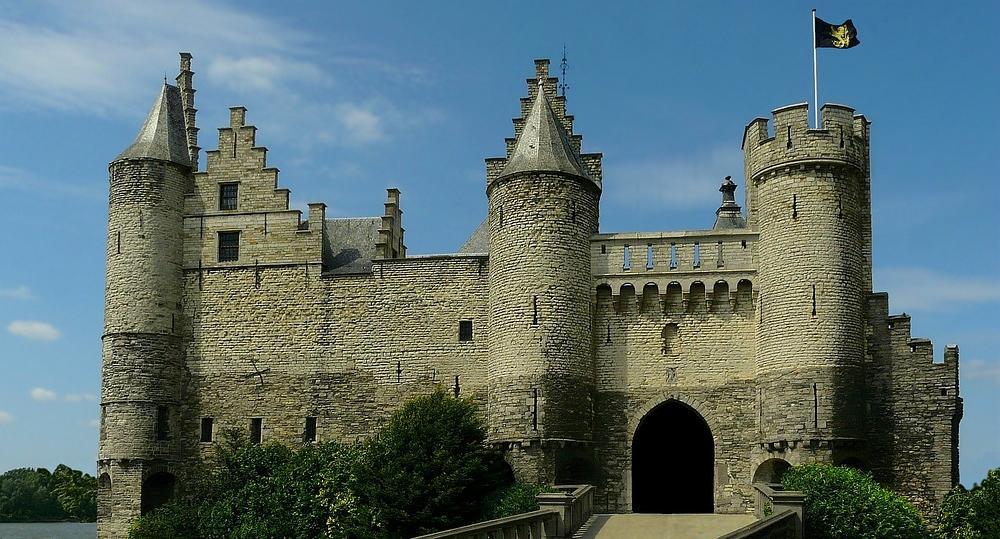 Castle 'Het Steen' at Antwerp (Belgium)