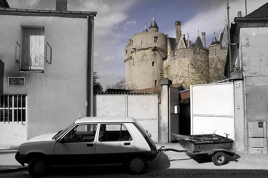 Castle in the backyard?