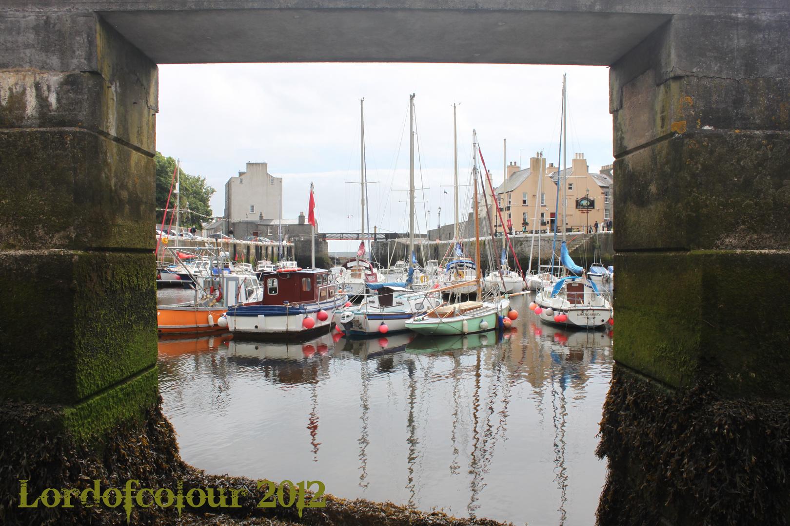 Castletown Harbour at Low-Tide
