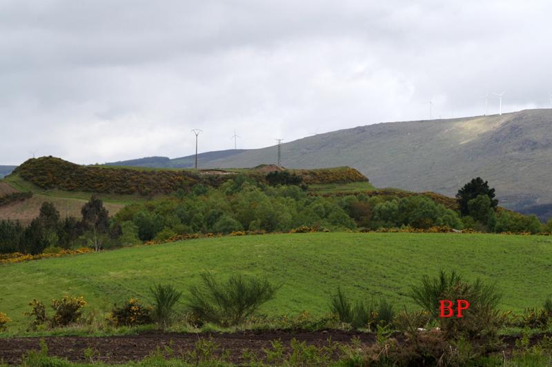 Castro celta en la provincia de Lugo