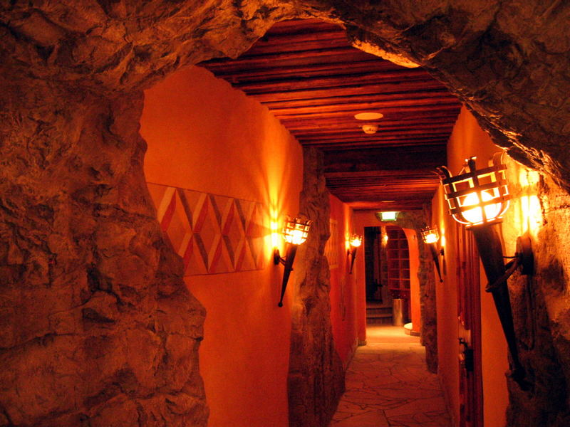 catacombs...