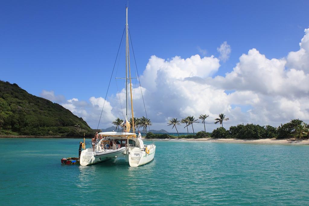 catamaran au paradis