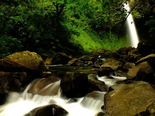 Catarata Río Fortuna, San Carlos, Costa Rica