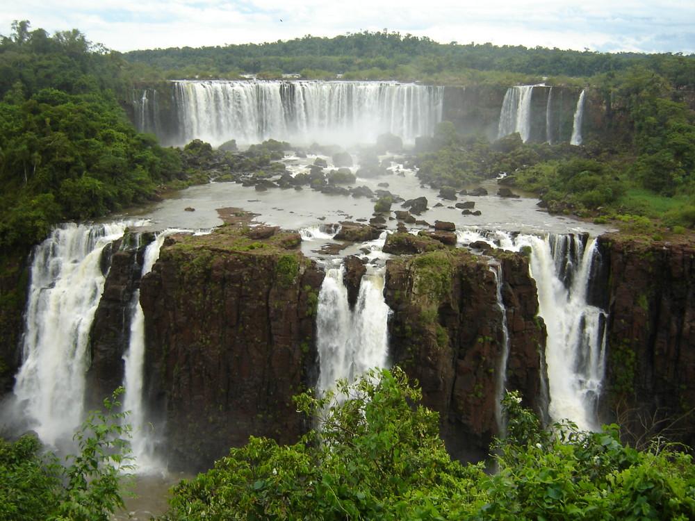 Cataratas Wasserfälle Foz de Iguazu