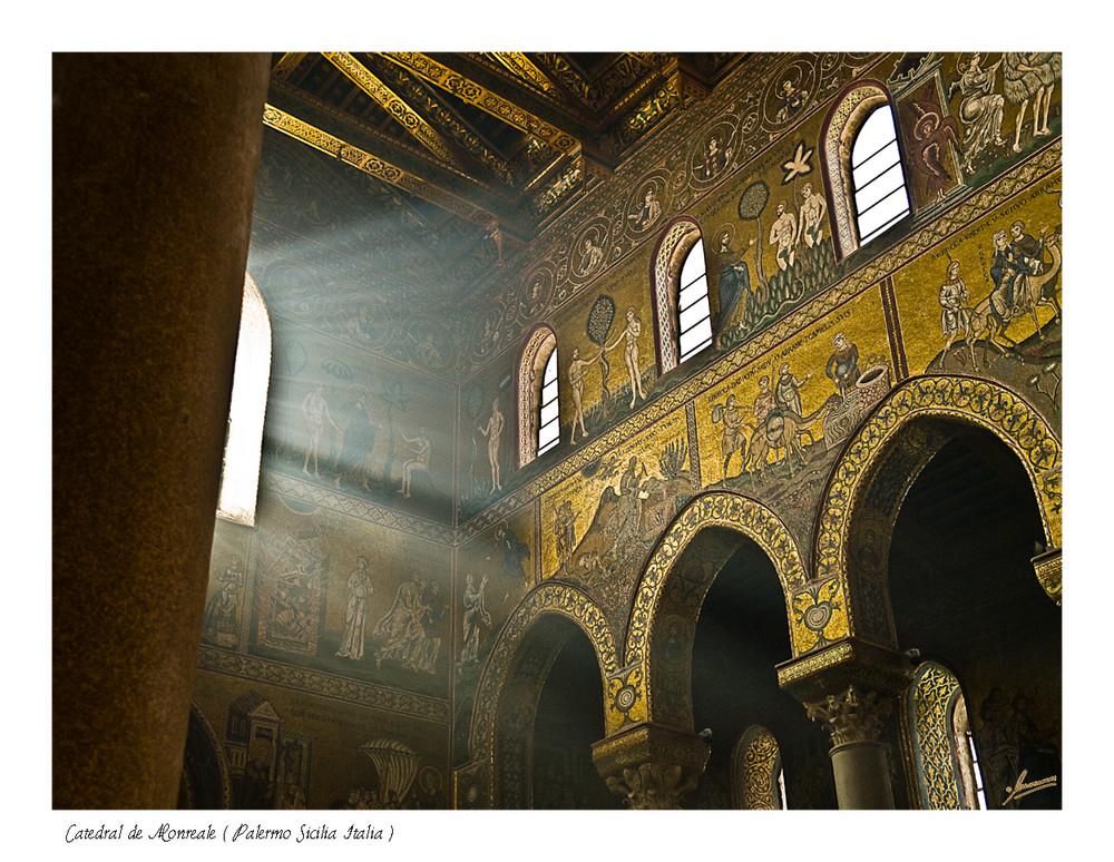 Catedral de Monreale ( Palermo Sicilia Italia )