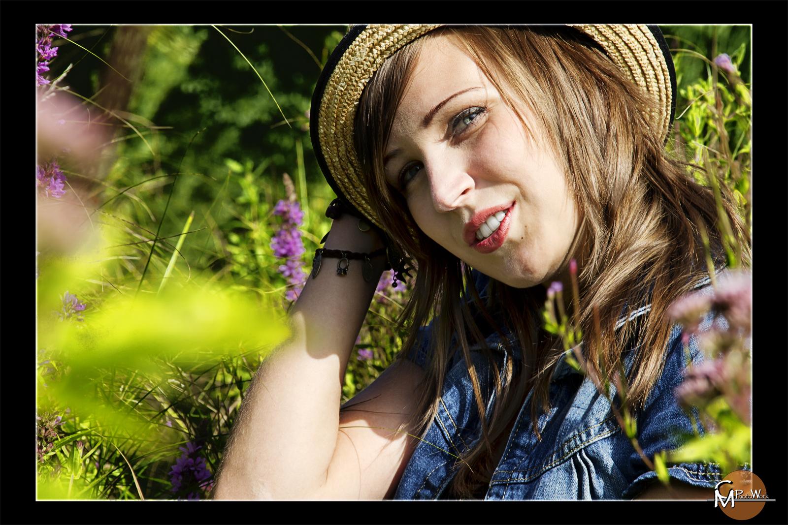 Catharina mit Hut