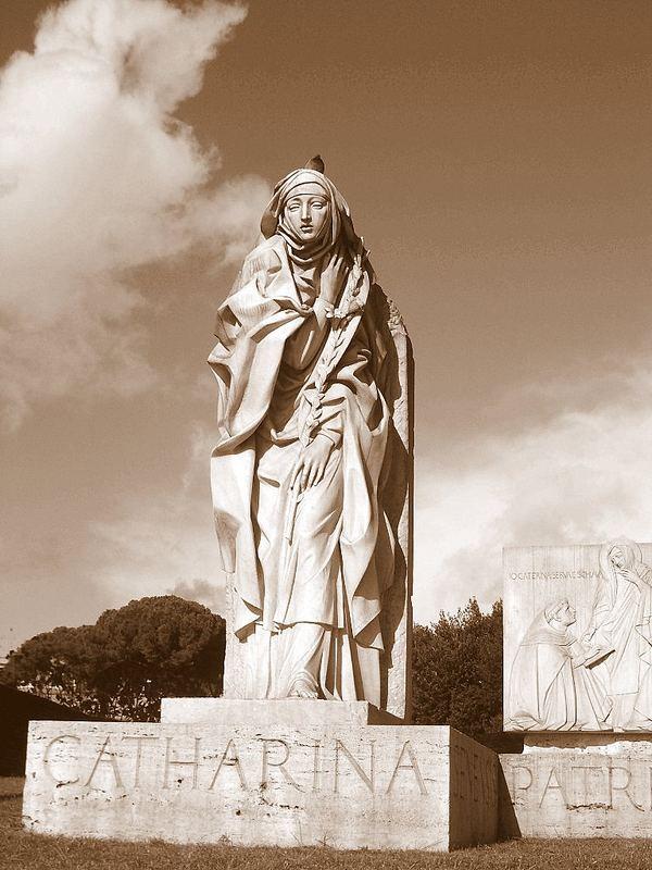 Catharina neben der Engelsburg in Rom