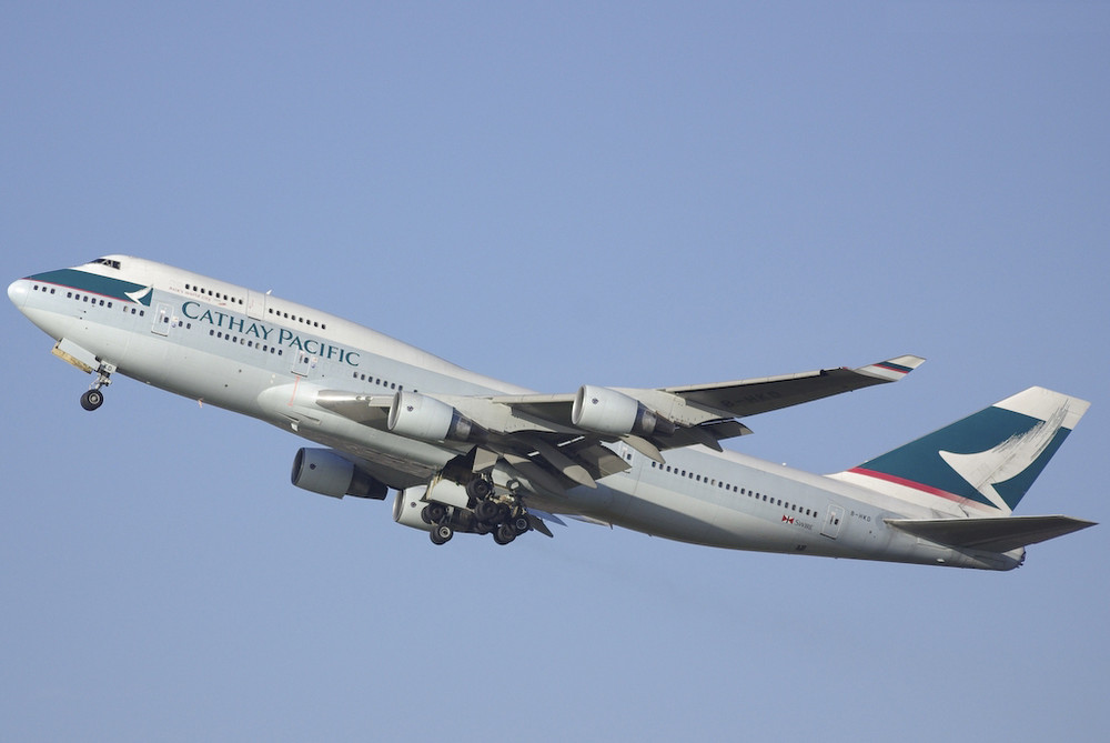 Cathay Pacific Airways - Boeing 747-412