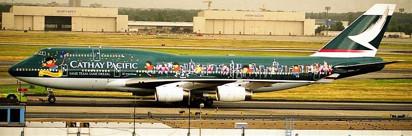 Cathay Pacific - Boeing 747-467 Spirit of Hongkong Millenium