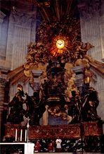 Cathedra Petri (St. Peter's Altar), St. Peter's Basilica, Vatican City