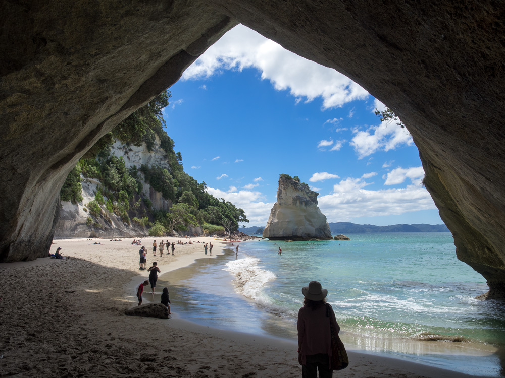 Cathedral Cove , Hahai