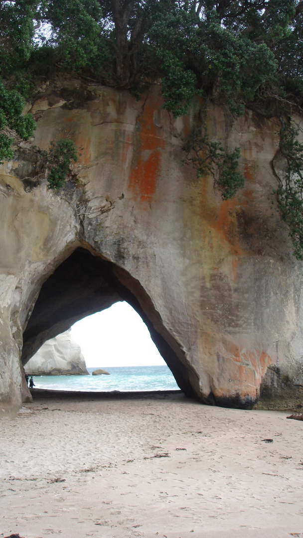 Cathedral Cove NZ (low tide)