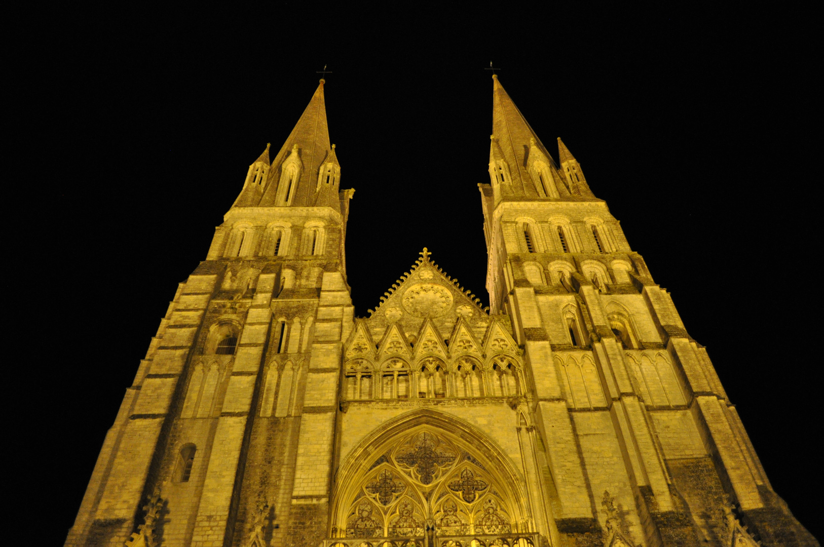 Cathedral de Bayeux Nuit/Nacht No.2