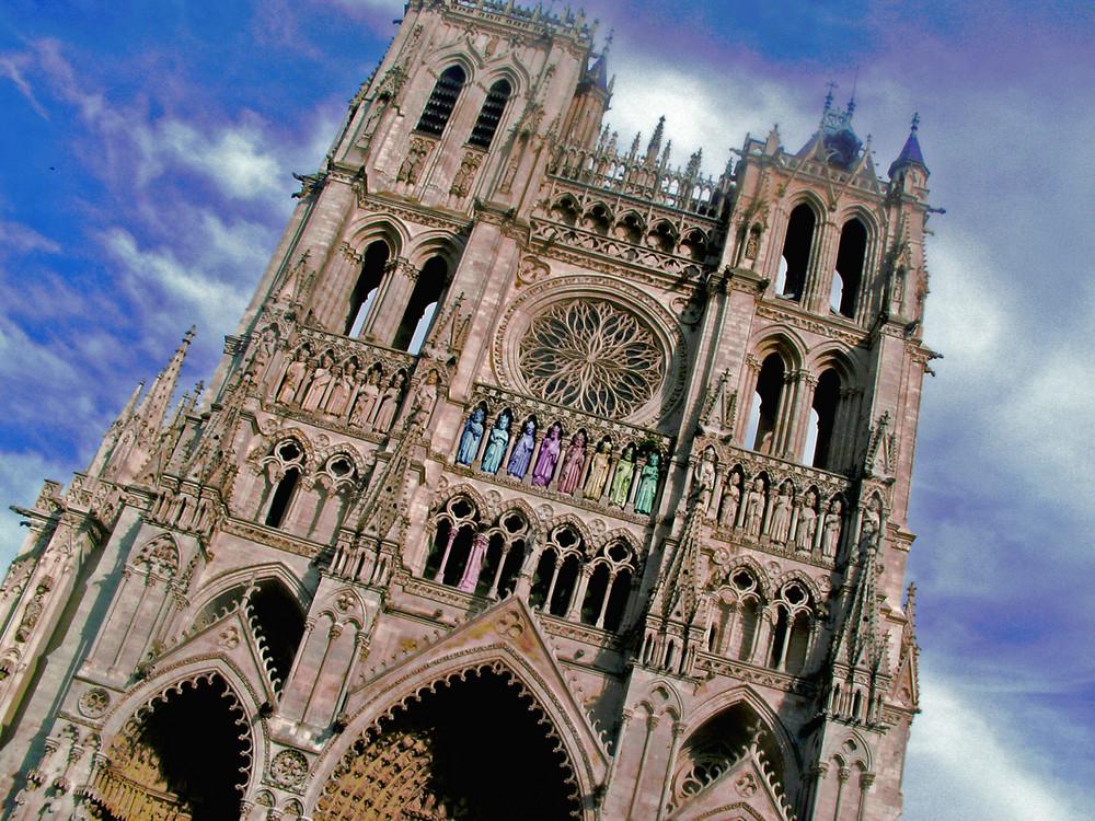 cathédrale colorée