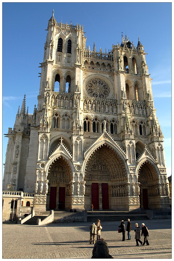 cathédrale d'Amiens von cecyl