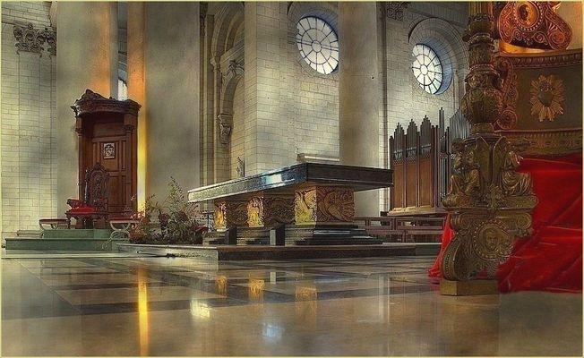 Cathédrale d'Arras (suite) Le choeur
