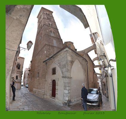 cathédrale de Bonifaccio