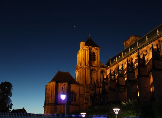 Cathédrale de Bourges by night