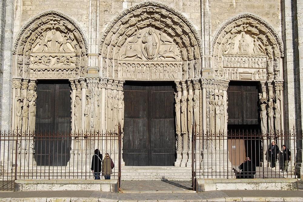Cathédrale de Chartres portail Royal