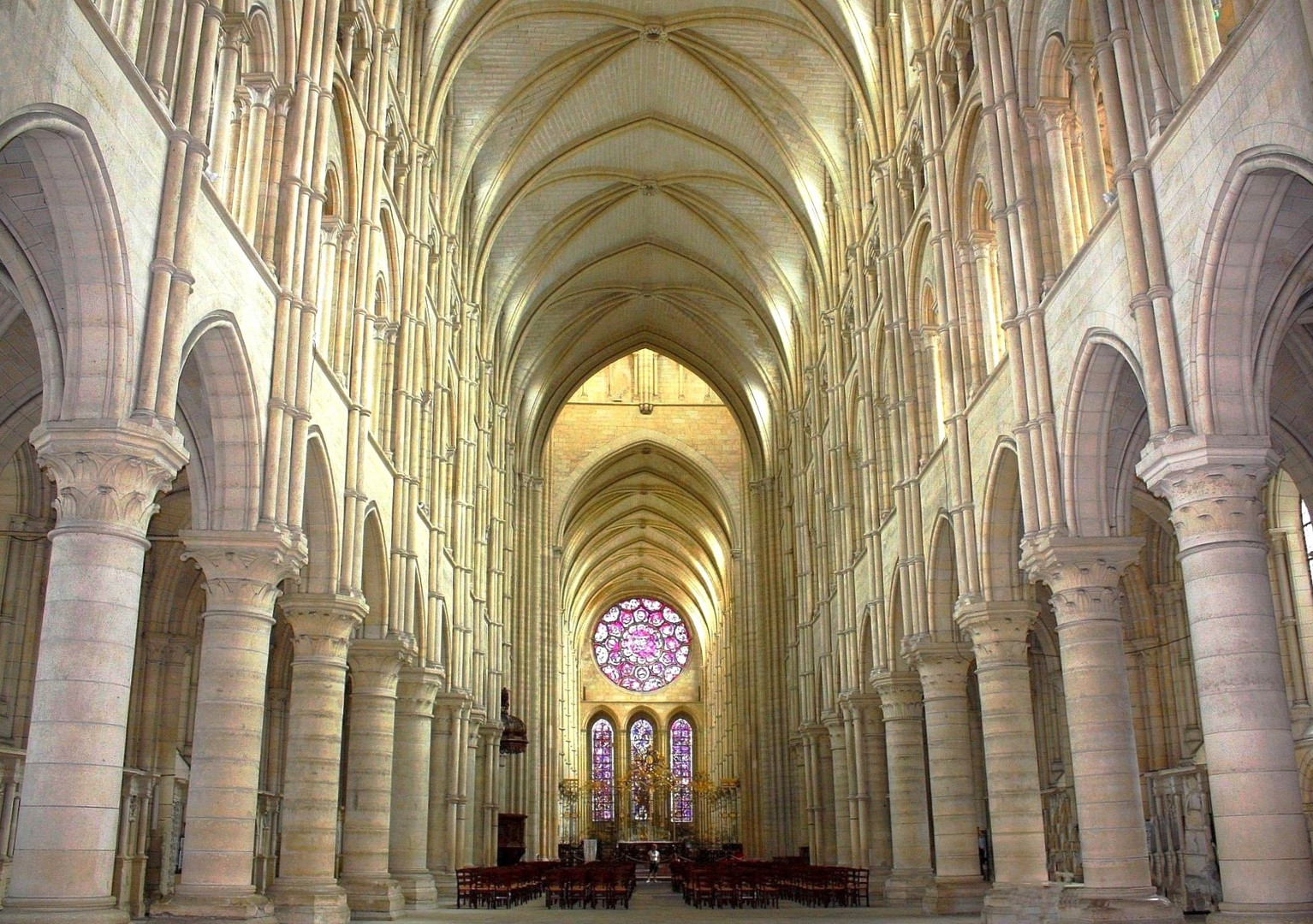 Cathédrale de Laon La nef